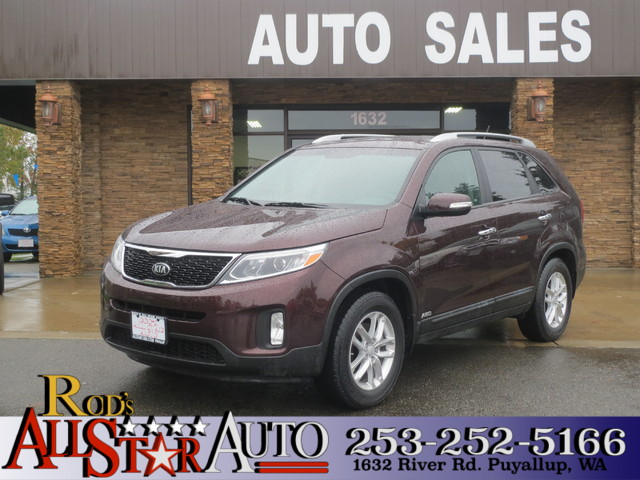 2015 Kia Sorento LX AWD The CARFAX Buy Back Guarantee that comes with this vehicle means that you