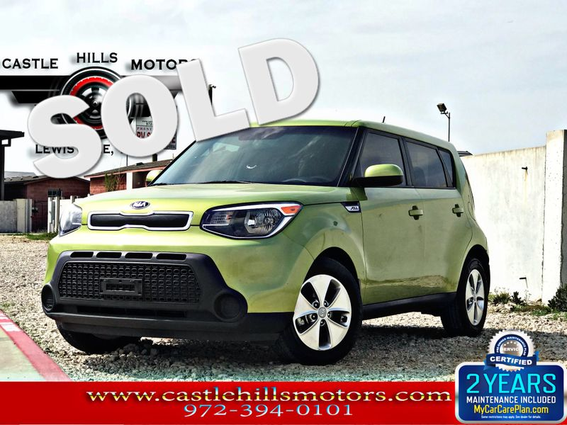 2015 Kia Soul Base | Lewisville, Texas | Castle Hills Motors in Lewisville Texas