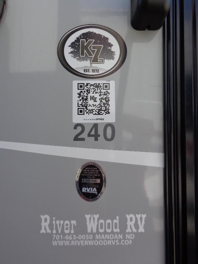 2015 Kz Spree LX 240BHS Mandan, North Dakota 6