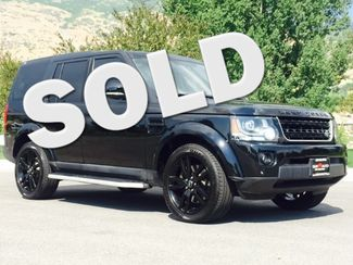 2015 Land Rover LR4 LUX LINDON, UT