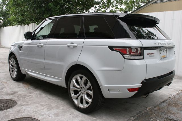 2015 Land Rover Range Rover Sport Autobiography Houston, Texas 3