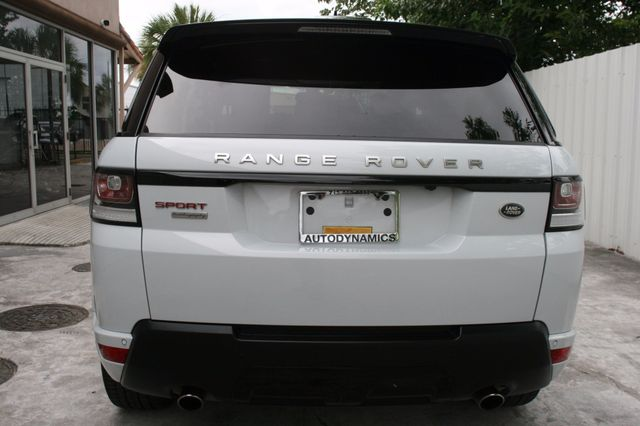 2015 Land Rover Range Rover Sport Autobiography Houston, Texas 5
