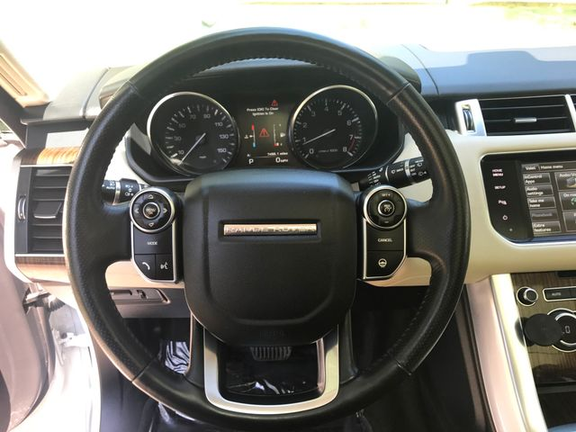2015 Land Rover Range Rover Sport HSE Engine: 3.0L V6 Supercharged Leesburg, Virginia 25