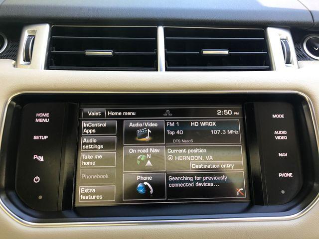 2015 Land Rover Range Rover Sport HSE Engine: 3.0L V6 Supercharged Leesburg, Virginia 34