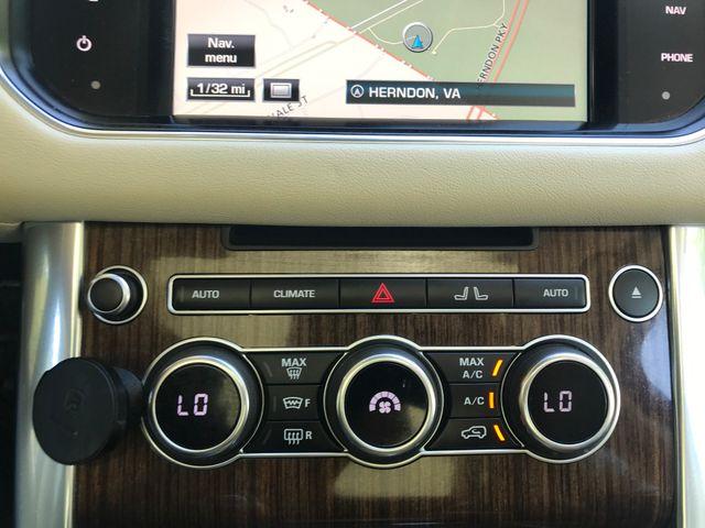 2015 Land Rover Range Rover Sport HSE Engine: 3.0L V6 Supercharged Leesburg, Virginia 37