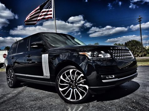 2015 Land Rover Range Rover LWB SUPERCHARGED V8 in , Florida