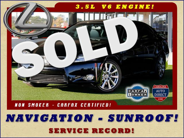 2015 Lexus GS 350 RWD - NAVIGATION - SUNROOF - SERVICE RECORD! Mooresville , NC 0