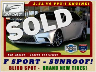 2015 Lexus IS 250 RWD F SPORT -  NEW TIRES - BLIS! Mooresville , NC