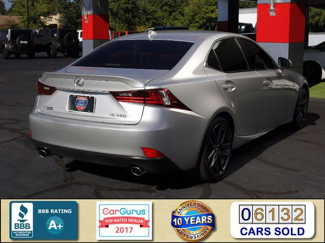2015 Lexus IS 250 RWD F SPORT -  NEW TIRES - BLIS! Mooresville , NC 2