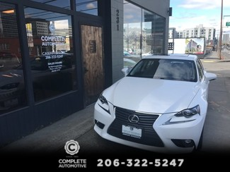 2015 Lexus IS250 All Wheel Drive 17,000 Original Miles 1 Owner Navigation Rear Camera  Heated/Cooled Seats  in Seattle