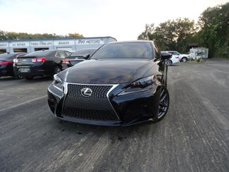 2015 Lexus IS 250 F SPORT. NAVIGATION SEFFNER, Florida 7