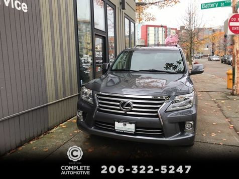 2015 Lexus LX 570 4 Wheel Drive 8 Passenger Luxury Package  DVD Navigation AC & Heated Seats Save $33,000 in Seattle