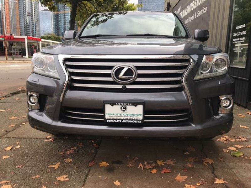 2015 Lexus LX 570 4 Wheel Drive 8 Passenger Luxury Package  DVD Navigation AC  Heated Seats Save 33000  city Washington  Complete Automotive  in Seattle, Washington