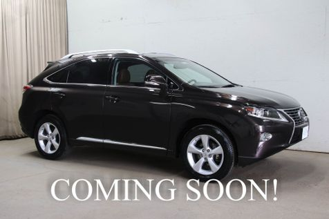 2015 Lexus RX 350 AWD Crossover with Heated, Cooled Seats, Backup Cam, Blind Spot Monitor & 2-Tone Interior in Eau Claire