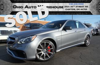 2015 Mercedes-Benz E 63 AMG S-Model AWD 577HP 1-Own Cln Carfax We Finance  | Canton, Ohio | Ohio Auto Warehouse LLC in  Ohio
