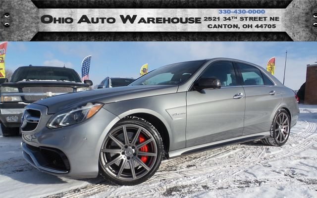 2015 Mercedes-Benz E 63 AMG S-Model AWD 577HP 1-Own Cln Carfax We Finance  | Canton, Ohio | Ohio Auto Warehouse LLC in Canton Ohio
