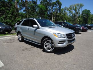 2015 Mercedes-Benz ML 350 w PANORAMIC ROOF SEFFNER, Florida 8