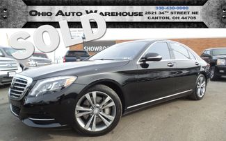 2015 Mercedes-Benz S 550 4Matic V8 Navi Pano Clean Carfax We Finance | Canton, Ohio | Ohio Auto Warehouse LLC in  Ohio