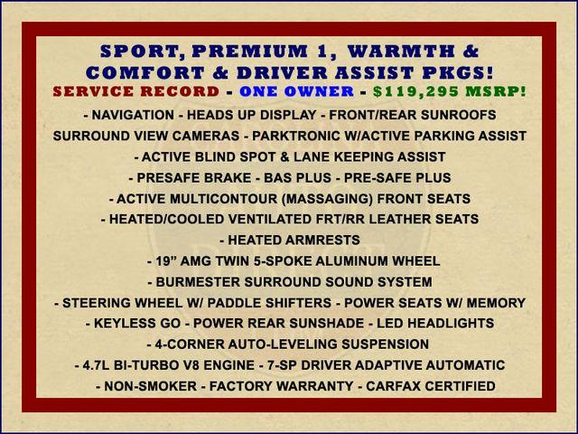 2015 Mercedes-Benz S 550 4MATIC AWD - SPORT, PREMIUM & DRIVER ASSIST PKGS! Mooresville , NC 1