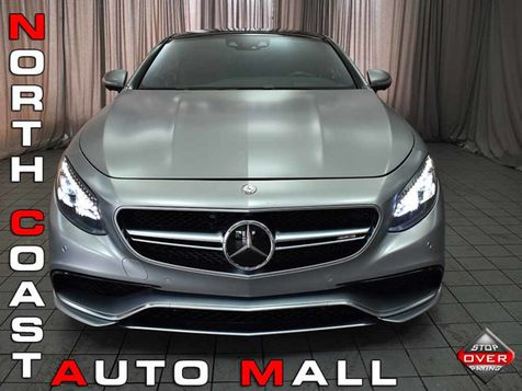2015 Mercedes-Benz S 63 AMG 2dr Coupe S 63 AMG 4MATIC EDITION ONE MSRP $200... in Akron, OH