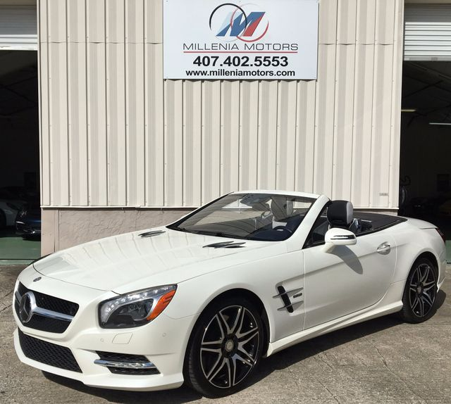 2015 Mercedes-Benz SL 550 WHITE ARROW EDITION Longwood, FL 46
