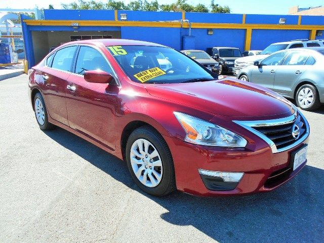 2015 Nissan Altima 25 S Limited warranty included to assure your worry-free purchase AutoCheck r