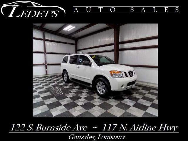 2015 Nissan Armada SV - Ledet's Auto Sales Gonzales_state_zip in Gonzales Louisiana