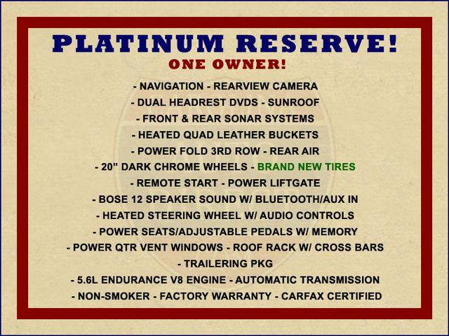 2015 Nissan Armada PLATINUM RESERVE RWD - NAV-DVDS-SUNROOF! Mooresville , NC 1