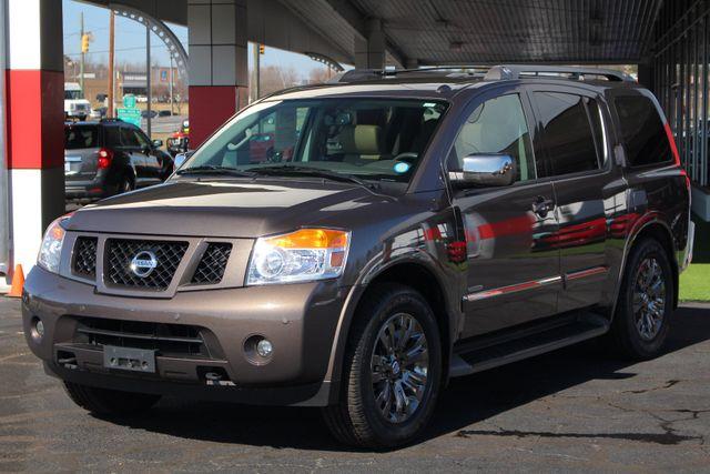 2015 Nissan Armada PLATINUM RESERVE RWD - NAV-DVDS-SUNROOF! Mooresville , NC 26