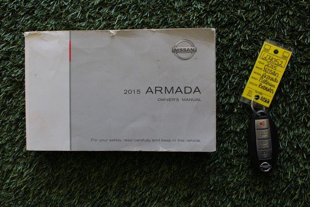 2015 Nissan Armada PLATINUM RESERVE RWD - NAV-DVDS-SUNROOF! Mooresville , NC 22