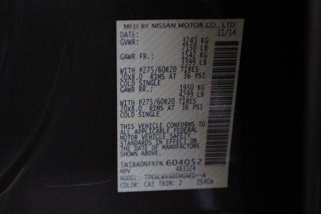 2015 Nissan Armada PLATINUM RESERVE RWD - NAV-DVDS-SUNROOF! Mooresville , NC 55