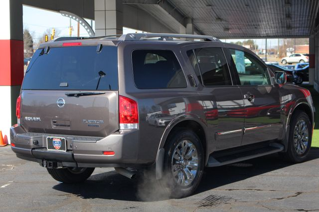 2015 Nissan Armada PLATINUM RESERVE RWD - NAV-DVDS-SUNROOF! Mooresville , NC 29