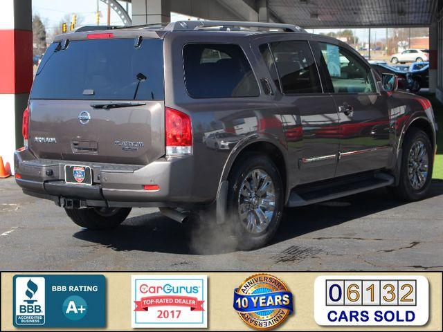 2015 Nissan Armada PLATINUM RESERVE RWD - NAV-DVDS-SUNROOF! Mooresville , NC 2