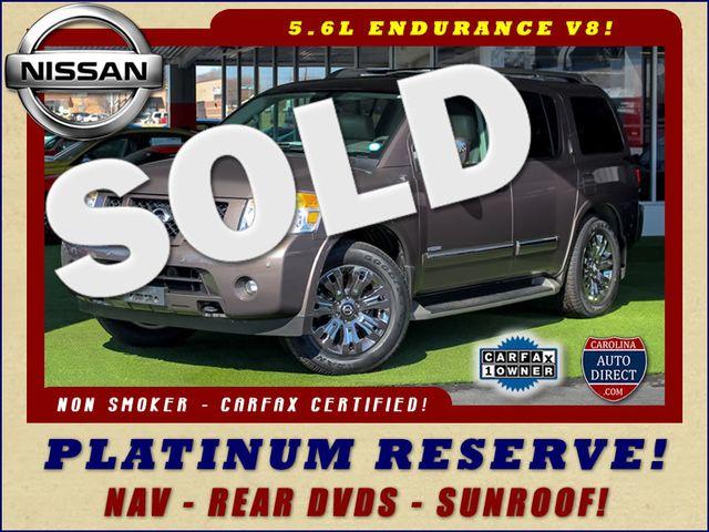 2015 Nissan Armada PLATINUM RESERVE RWD - NAV-DVDS-SUNROOF! Mooresville , NC 0