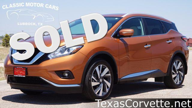 2015 Nissan Murano Platinum   Lubbock, Texas   Classic Motor Cars