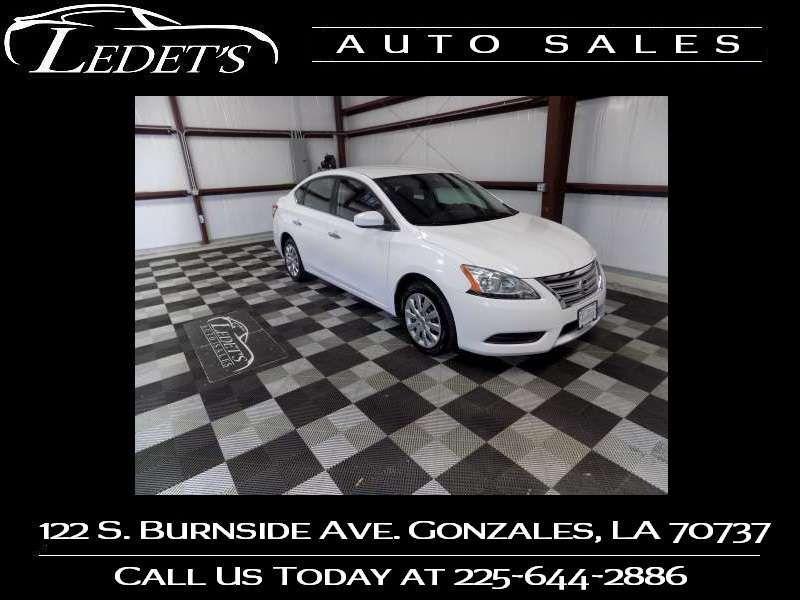 2015 Nissan Sentra S - Ledet's Auto Sales Gonzales_state_zip in Gonzales Louisiana