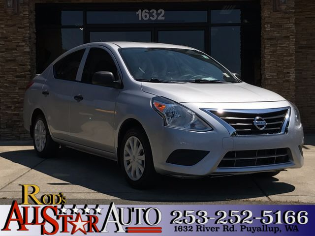 2015 Nissan Versa S Plus This vehicle is a CarFax certified one-owner used car Pre-owned vehicles