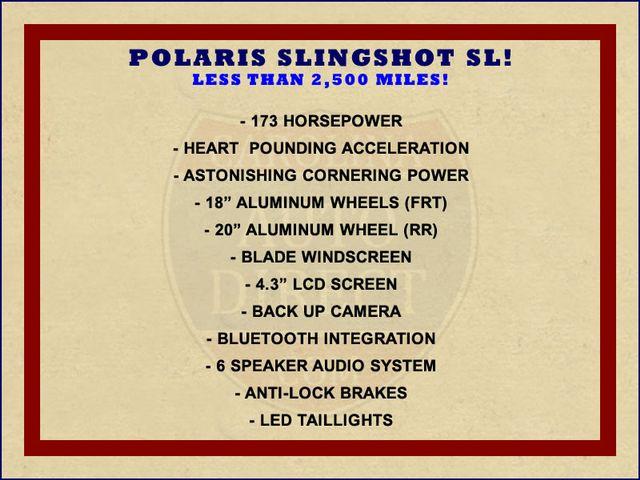 2015 Polaris SLINGSHOT® SL - LESS 2,500 MILES! Mooresville , NC 1