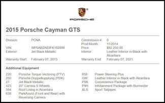 2015 Porsche Cayman in Carrollton TX