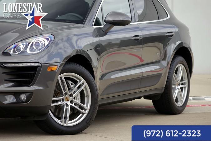 2015 Porsche Macan S Warranty Premium Pkg Plus  in Plano, Texas