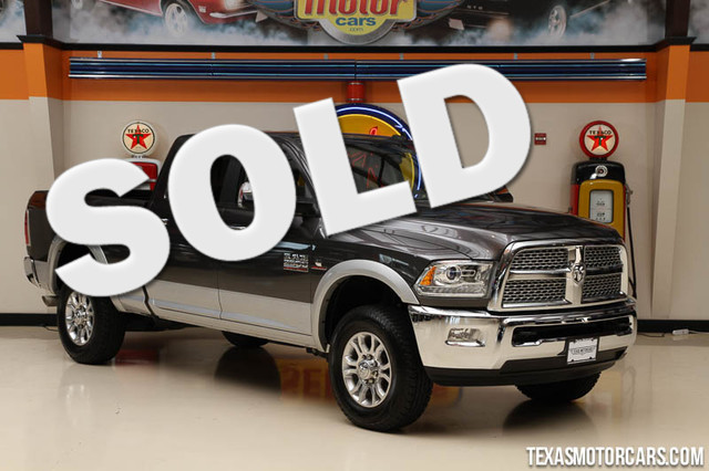 2015 Ram 2500 Laramie This Carfax 1-Owner 2015 Ram 2500 Laramie is in great shape with only 25 05