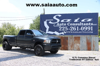 2015 Ram Dodge 3500 Tradesman Crew Cab 4wd 6.7 Diesel 6 Speed Leveled 35 Toyos On XD Rims Hard To Find TWO OWNER CARFAX  | Baton Rouge , Louisiana | Saia Auto Consultants LLC-[ 4 ]