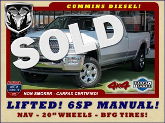 2015 Ram 3500 Laramie Crew Cab Long Bed 4x4 - LIFTED - 6SP! Mooresville , NC