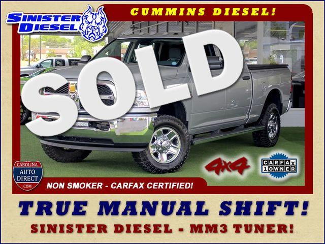 2015 Ram 3500 Crew Cab 4x4 - TRUE MANUAL SHIFT-SINISTER DIESEL! Mooresville , NC 0