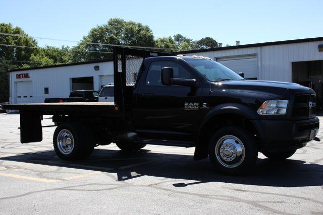 2015 Ram 5500 Tradesman REG Cab 4x4  FLAT BED - CUMMINS! Mooresville , NC 14