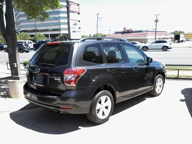 2015 Subaru Forester 2.5i Premium San Antonio, Texas 4