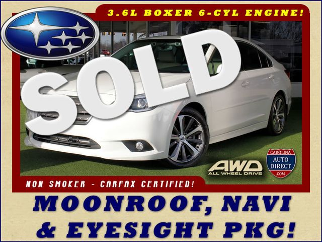2015 Subaru Legacy 3.6R Limited AWD - NAVIGATION-SUNROOF-EYESIGHT! Mooresville , NC 0