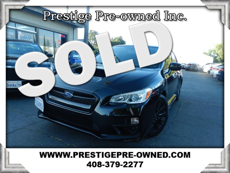 2015 Subaru WRX ((**AWD**)) PREVIOUS CPO  in Campbell CA