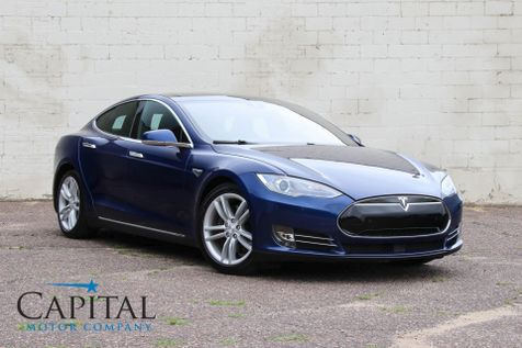 2015 Tesla Model S 85D AWD with Technology Pkg, Premium Interior Pkg and Panoramic Glass Roof in Eau Claire