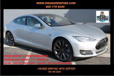 2015 Tesla Model S P85D PERFORMANCE in Orange, CA